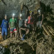 Espeleología en Curití Santander - Cueva de la Vaca